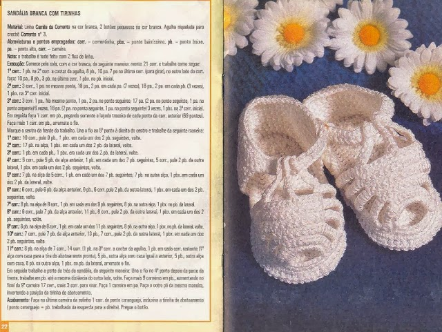 Вязание пинеток кеды для детей от 0 до 1 года с описанием