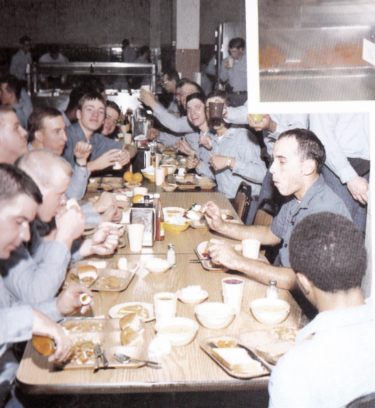 Tommy Mondello boot camp mess hall