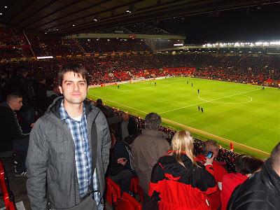 Txemi en Old Trafford Manchester
