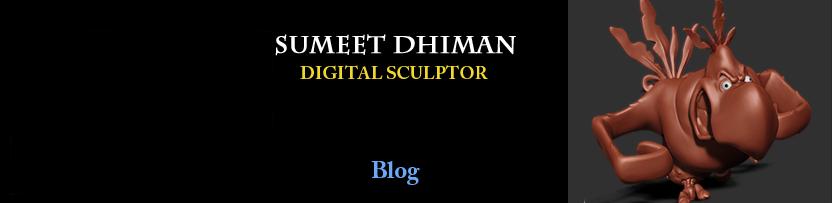 Sumeet Dhiman   (Character Artist) Blog