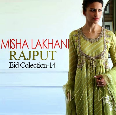 Misha Lakhani - Rajput Eid Collection 2014 | North Indian Tradition