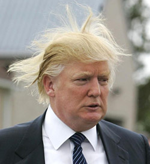 donald trump hair blowing in wind. donald trump hair blowing in