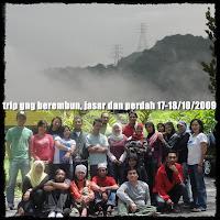 Gunung Berembun, Jasar , Perdah - Oct 2009