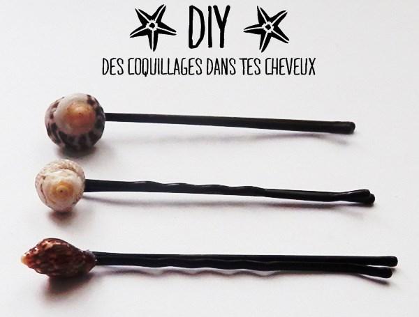DIY : des coquillages dans tes cheveux