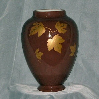 Buy a Falling Leaves Ceramic Vase