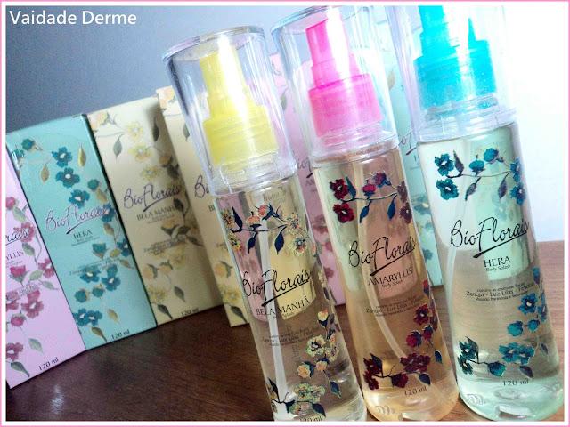 Desodorantes Corporais Colônias Bio Florais