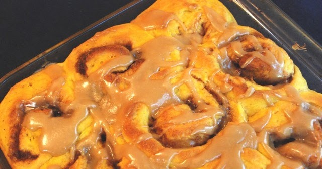 ... Cooking and More: No-Knead Pumpkin Rolls with Maple-Brown Sugar Glaze