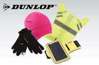 Akcesoria sportowe Dunlop z Biedronki etui na telefon rękawiczki kamizelka czapka komin