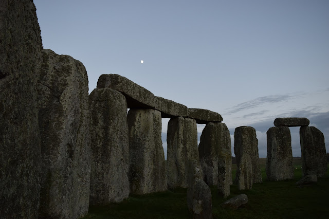 Stonehenge Night Moon