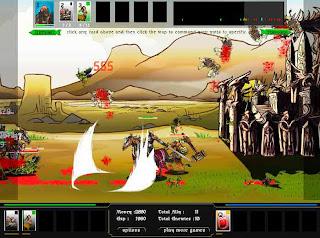 Flash-игра Epic War 3