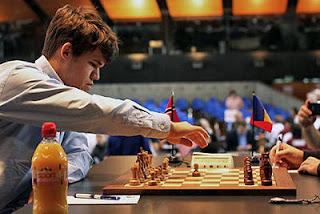 Echecs : le numéro un mondial Magnus Carlsen (2837) © site officiel