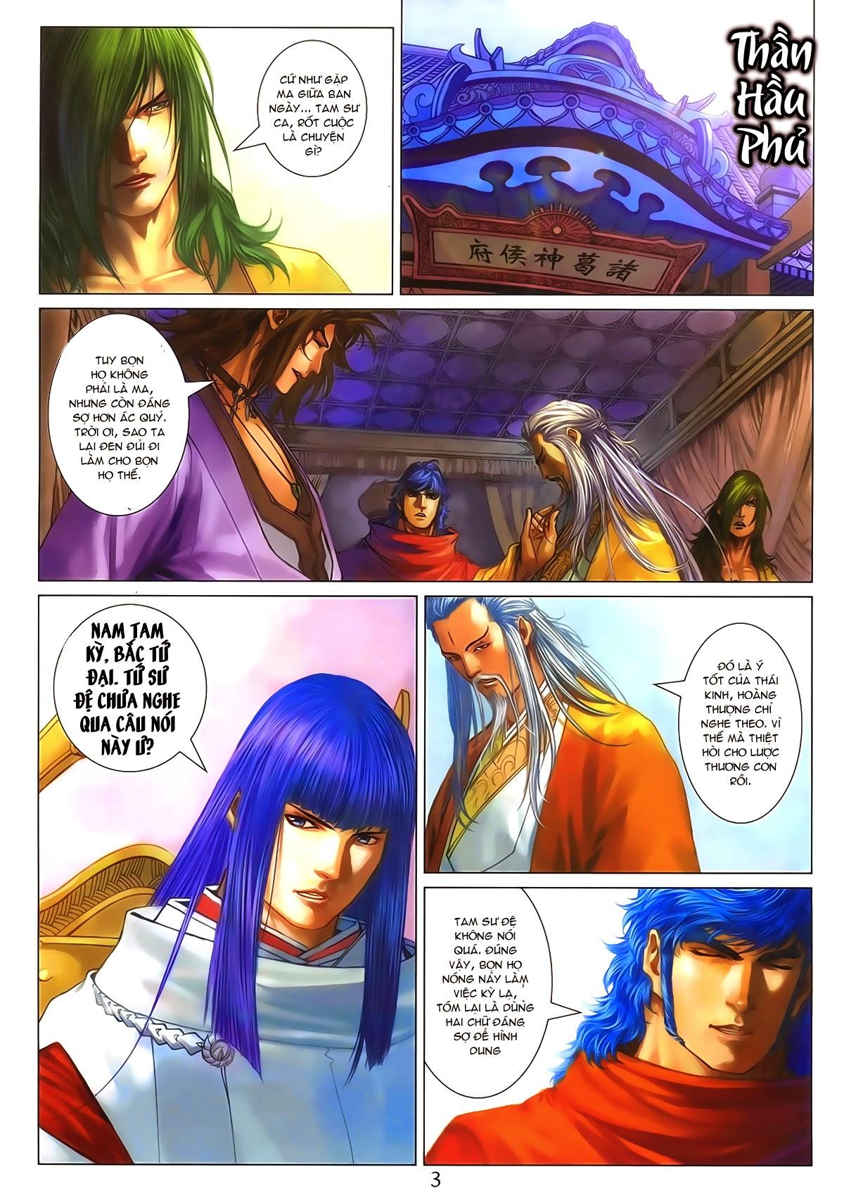Tứ Đại Danh Bổ Chap 286 - Trang 3