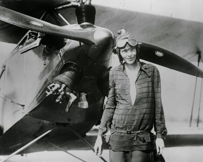 52 photos of women who changed history forever - Aviator Amelia Earhart after becoming the first woman to fly an aircraft across the Atlantic Ocean. [1928]