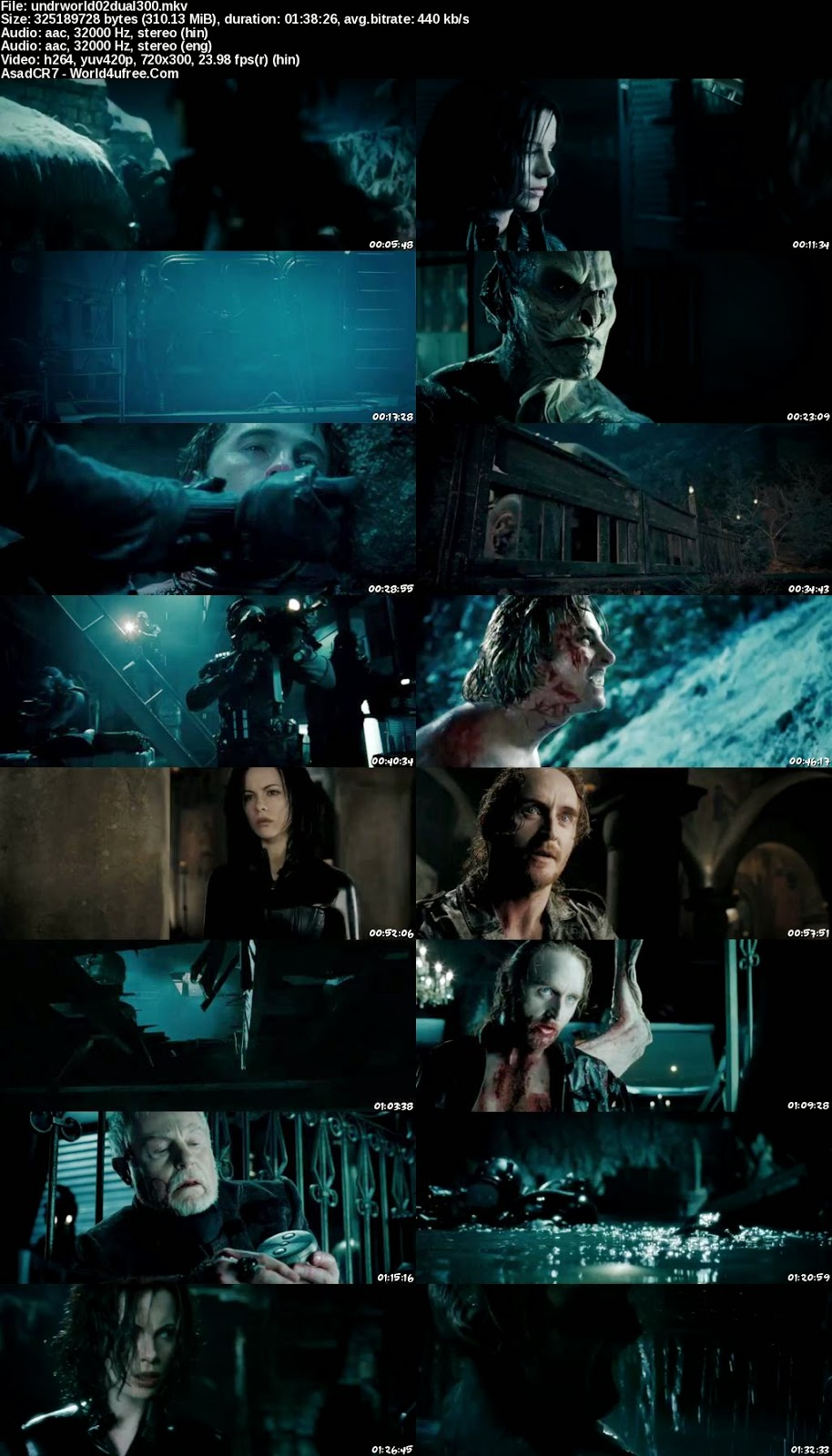 Underworld 2 Evolution 2006 [Hindi-Eng] Dual Audio 300mb BRRip 480p world4ufree.ws hollywood movie Underworld 2 Evolution 2006 hindi dubbed dual audio 480p brrip bluray compressed small size 300mb free download or watch online at world4ufree.ws