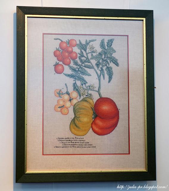 Схема вышивки ботаника veronique enginger