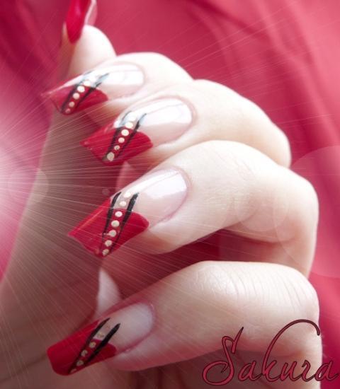 Latest Beautiful Bridal Nail Art Designs 2012 2013 For Girls