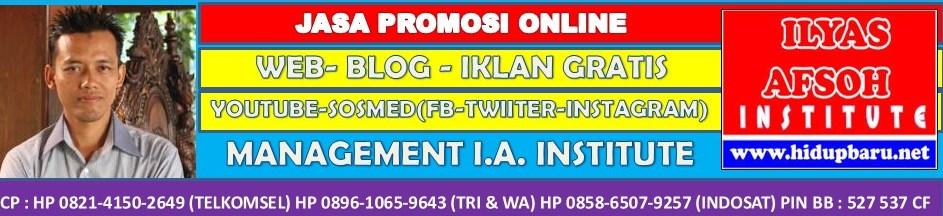 Jasa Promosi Online 0858-6507-9257 [INDOSAT]