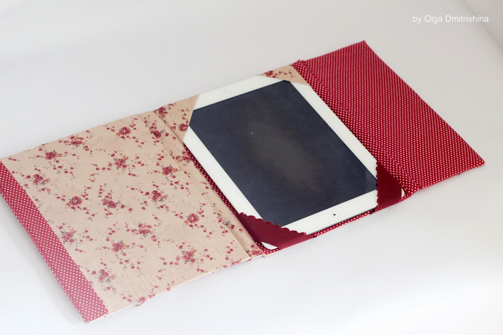 Как сделать чехлы для планшета своими руками