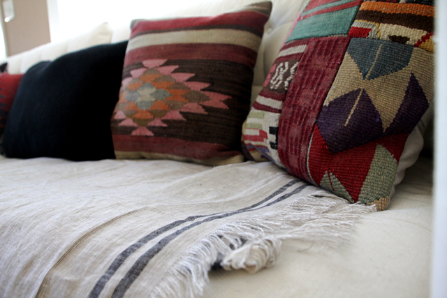 Couch Kilim Pillows