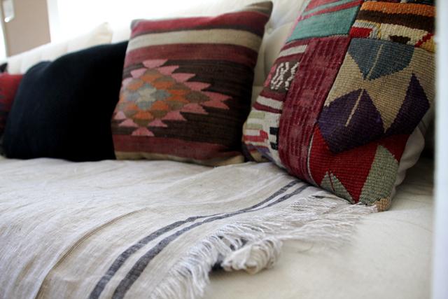 Couch Kilim Pillows