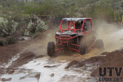 Ken Benson in his new Polaris RZR XP