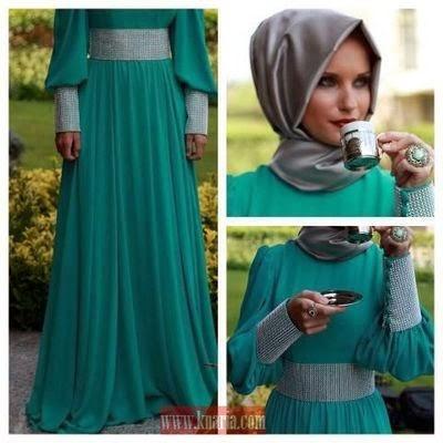 Hijab moderne pour soirée