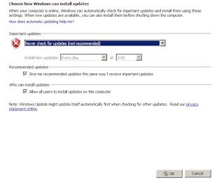 Cara Menonaktifkan Update Sistem Operasi Windows Secara otomatis