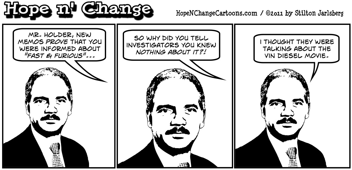 Eric Holder gets caught lying about Operation Fast and Furious, hopenchange, hope and change, hope n' change, stilton jarlsberg, tea party