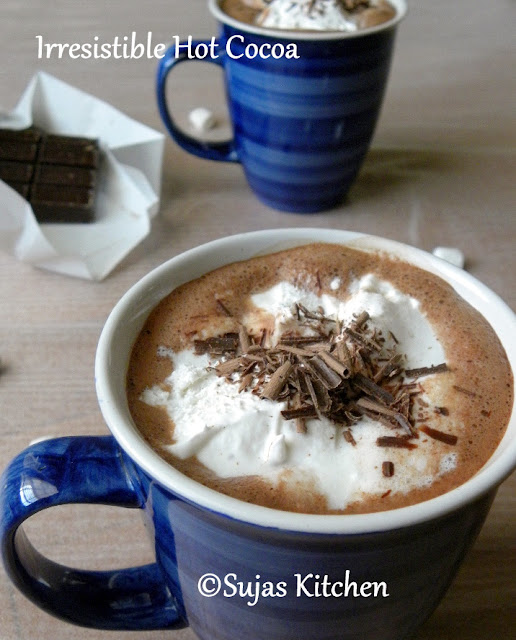 How to make an Irresistible Hot Cocoa in 3 minutes