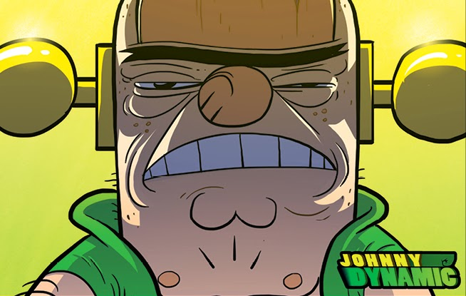 web-comic Johnny Dynamic