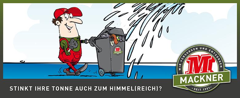 Abfalltonnenreinigung Wals-Siezenheim/Großgmain
