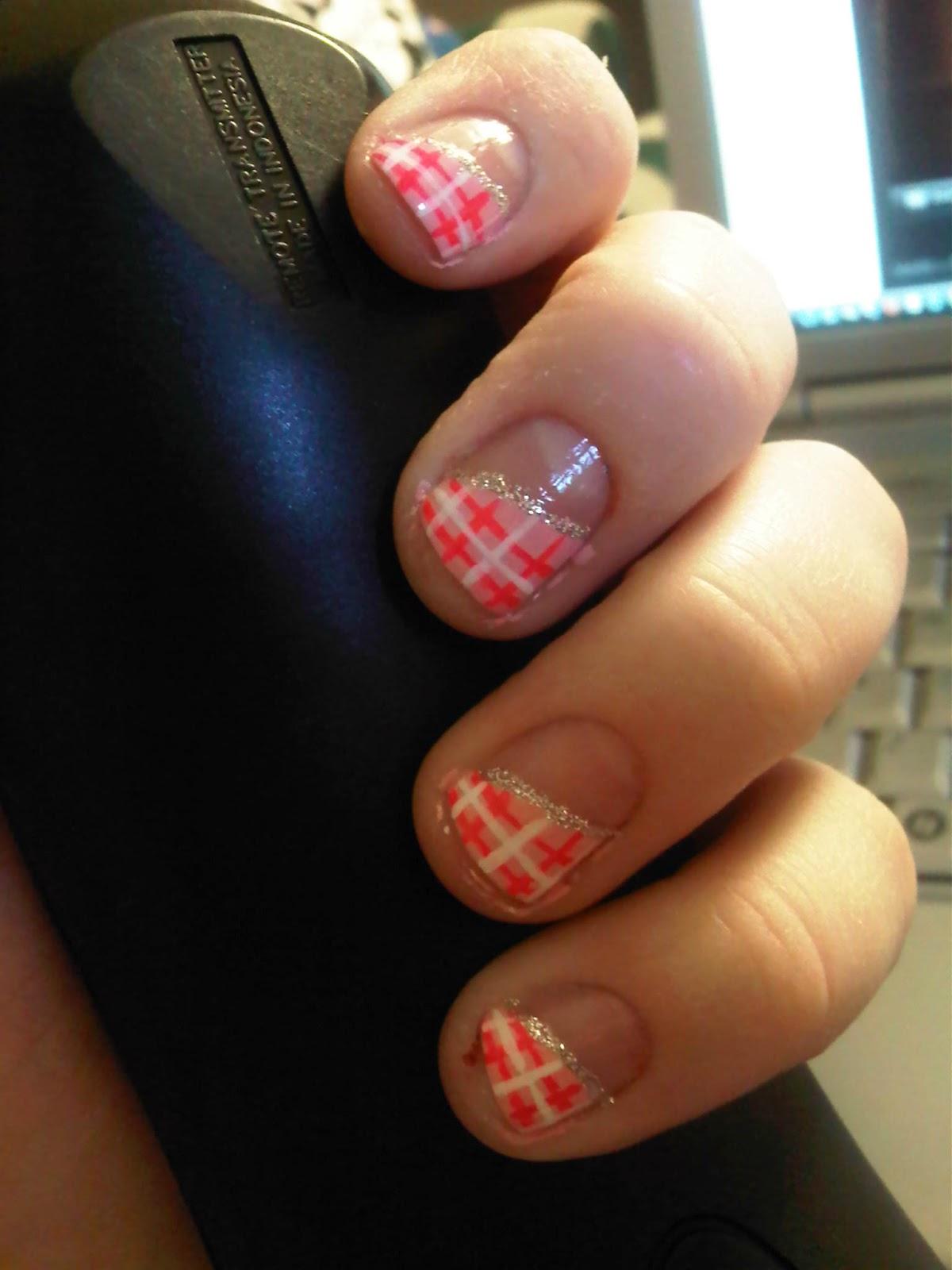 bekk 39 s beauty blurbs notd valentine 39 s day nails and a little nail guru lovin 39