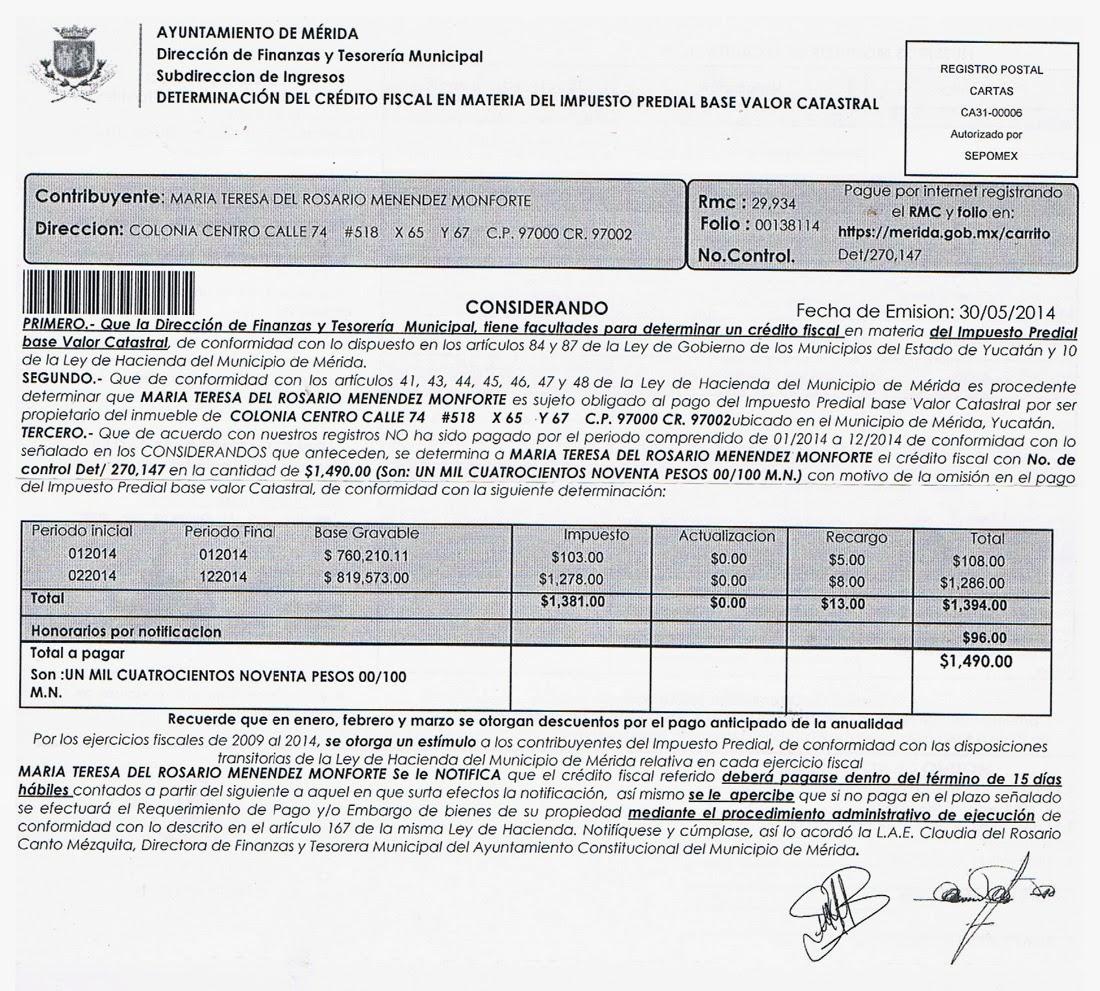 Formato Para El Pago De Predial En El D F | 191 d 243 nde