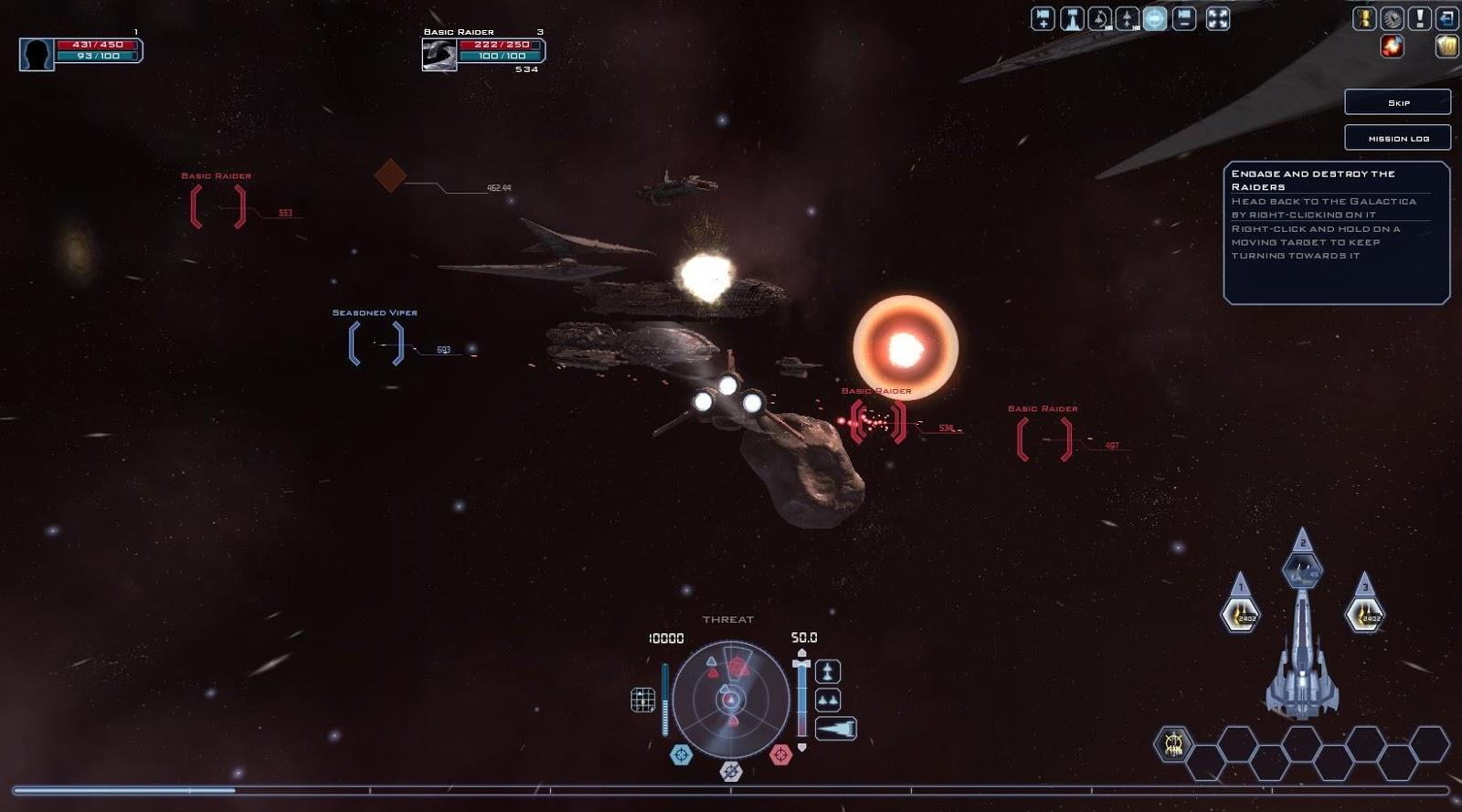 Battlestar Galactica Online - Dogfight
