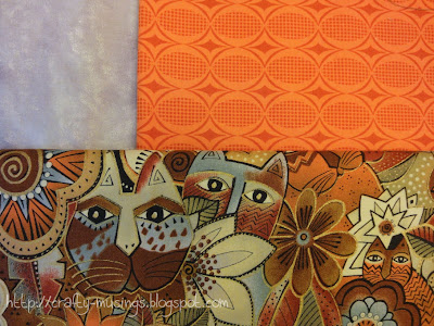 my mystery quilt fabrics