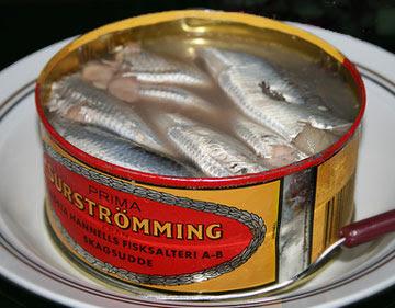 El surströmming se caracteriza por su fuerte olor