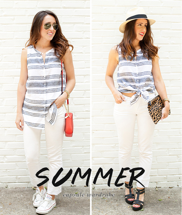 Here&Now Blog: How to wear a sleeveless button down