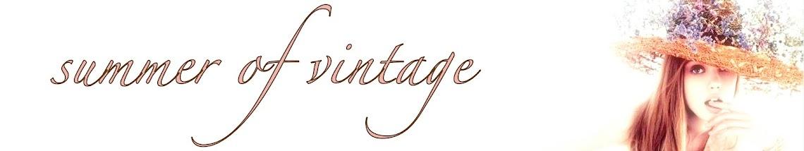 summer of vintage