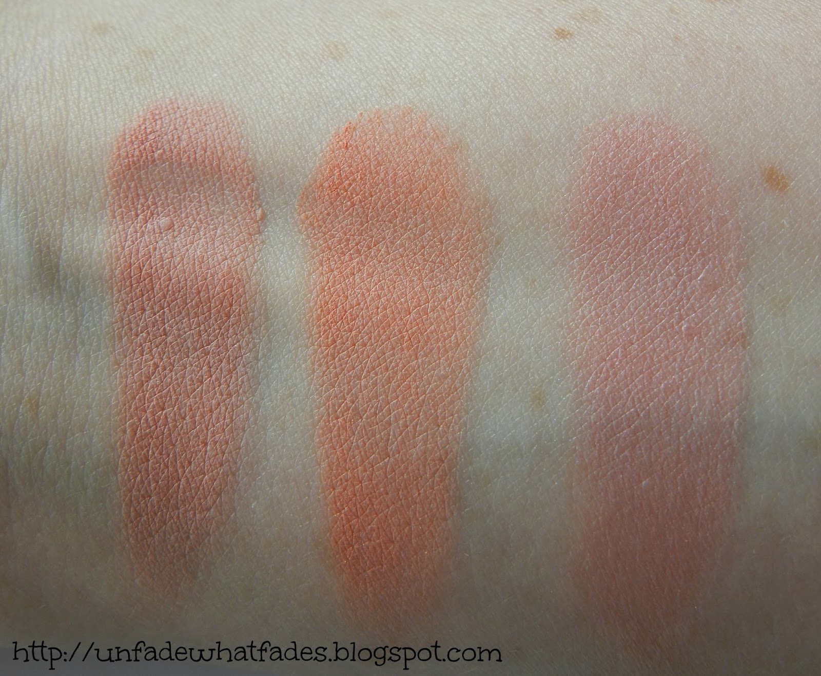 Unfade what fades: Bourjois Cream Blush in #01 Nude Velvet, #02 ...