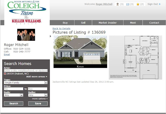 Camp Lejeune Yard Sale >> $170,000 new home for sale in Hubert NC, Peytons Ridge | Roger Mitchell and the Coleigh Team in ...