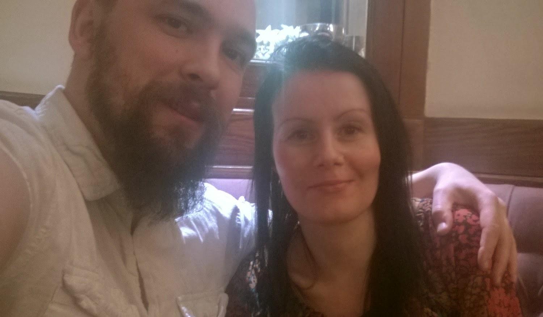 Selfie at the pub
