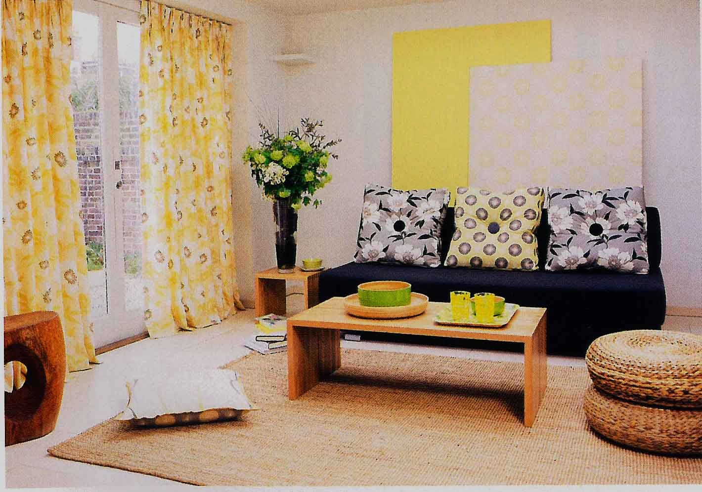gambar hiasan ruang tamu rumah kampung dream home