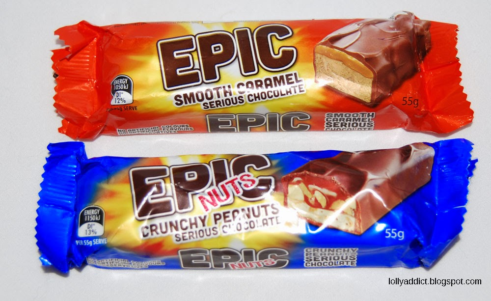 Epic chocolate bar