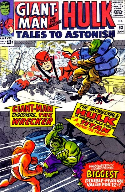 Tales to Astonish #63, Giant-Man, Hulk