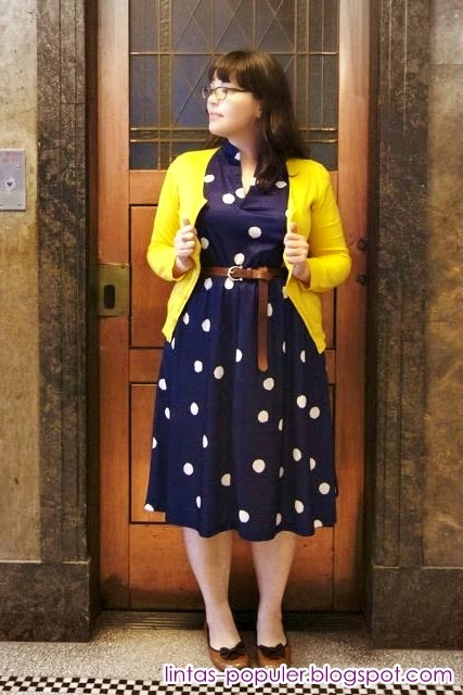 model baju wanita gemuk agar terlihat langsing