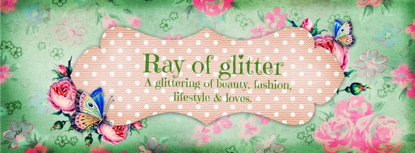 Ray of glitter