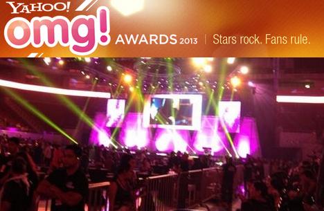 Yahoo! OMG Awards 2013