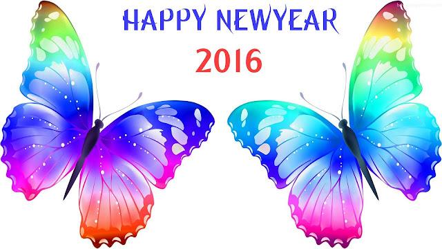 wallpaper ucapan selamat tahun baru