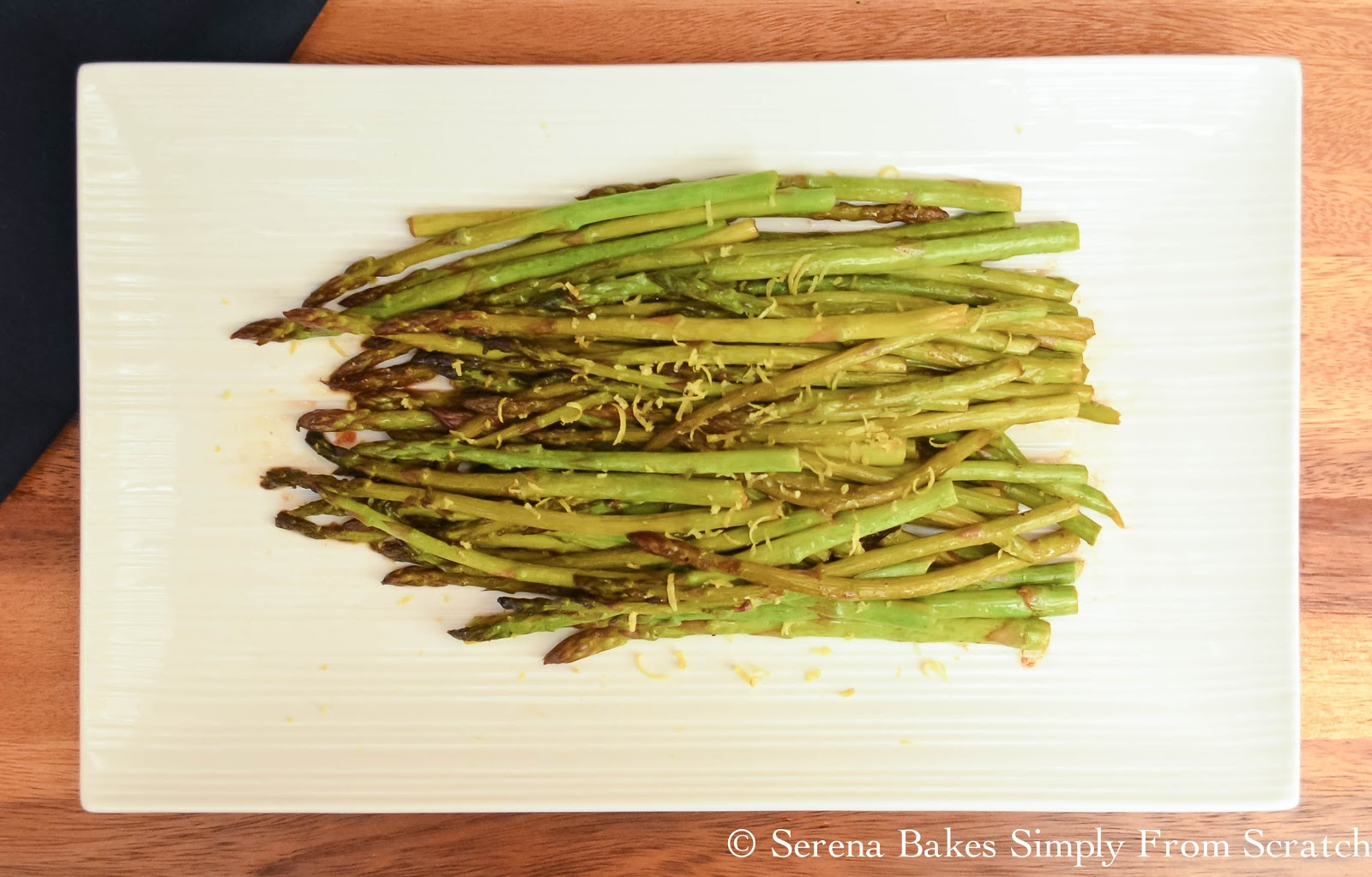 Pan Roasted Asparagus