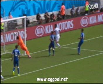 شاهد هدف فوز كوستاريكا على  إيطاليا 1-0